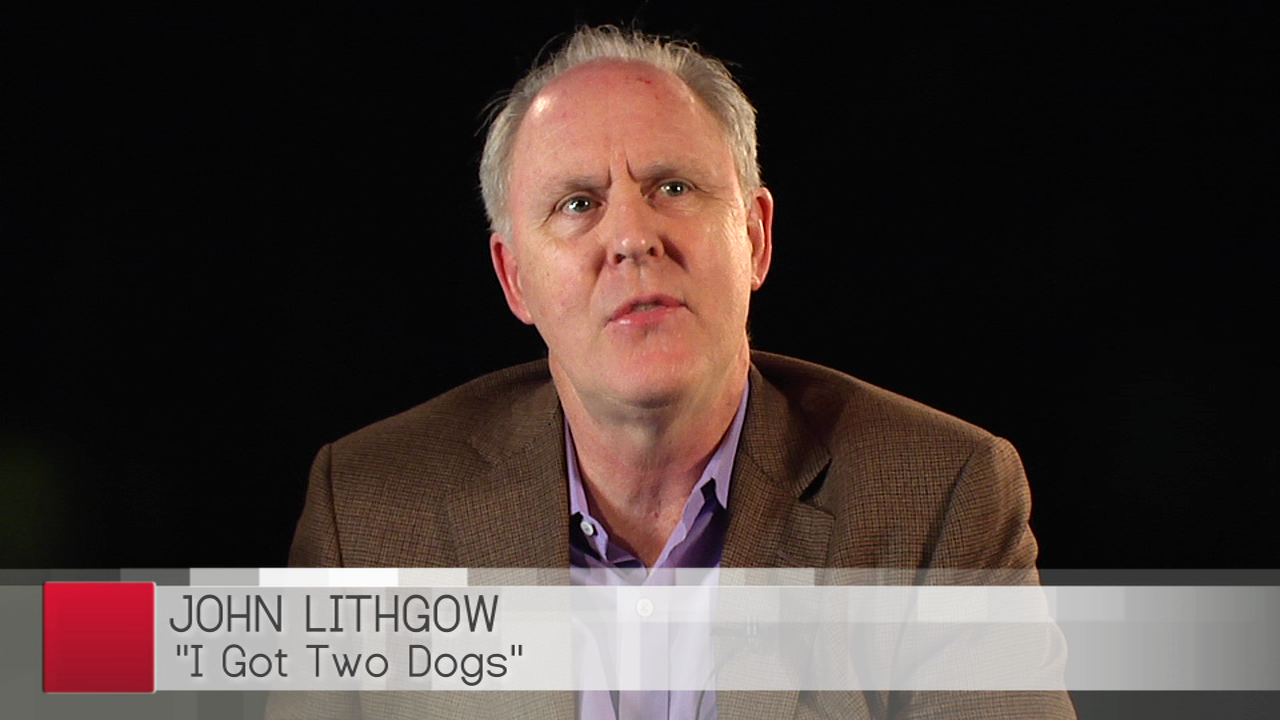 Actor and Author John Lithgow Shares His Personal Motto