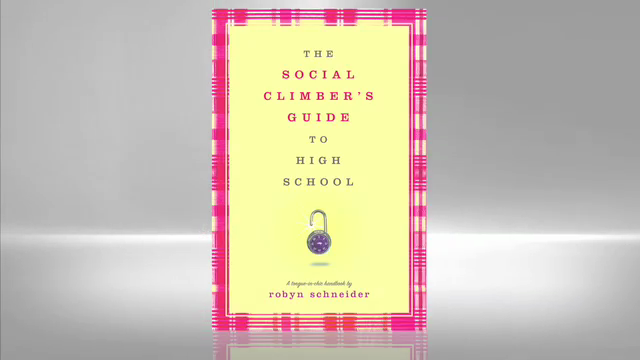 Robyn Schneider: Social Climber's Guide to High School