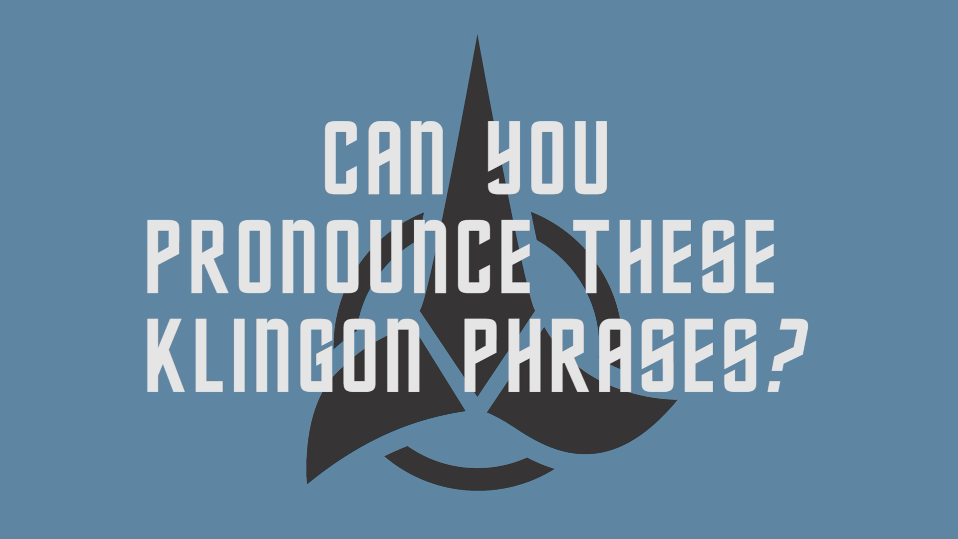 Simon & Schuster Employees Try To Pronounce Klingon Phrases