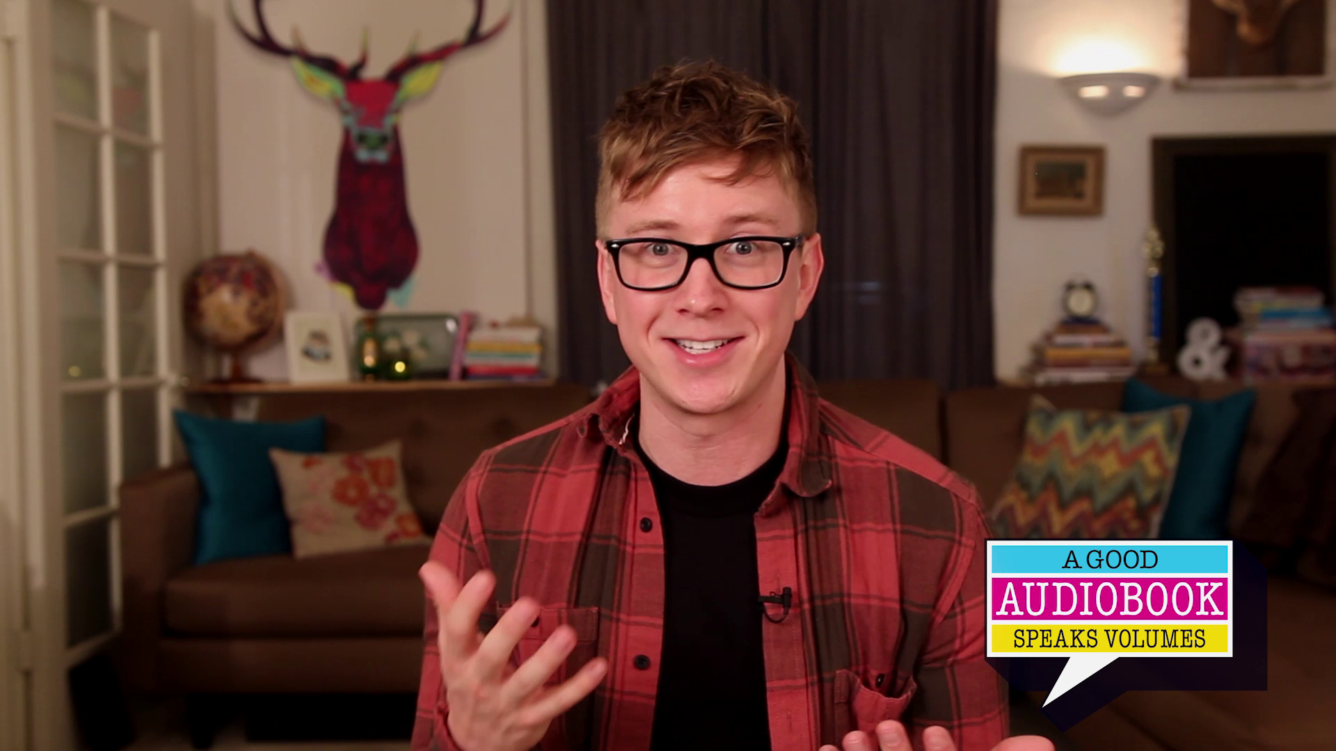 Tyler Oakley tells us why he can't stop listening to audiobooks