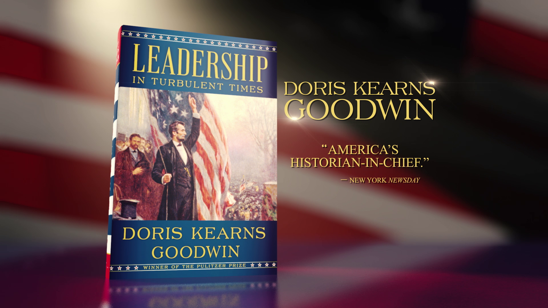 LEADERSHIP IN TURBULENT TIMES   Book Trailer