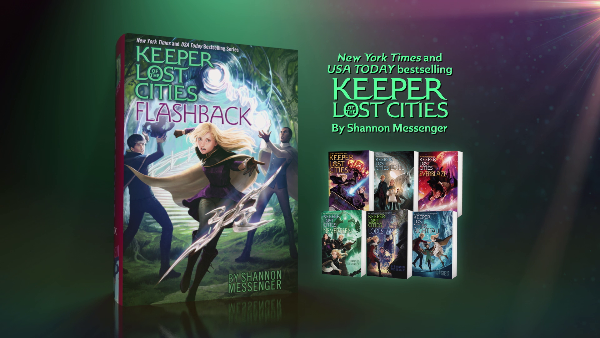 FLASHBACK: The Seventh Installment of the Bestselling KEEPER OF THE LOST CITIES Series