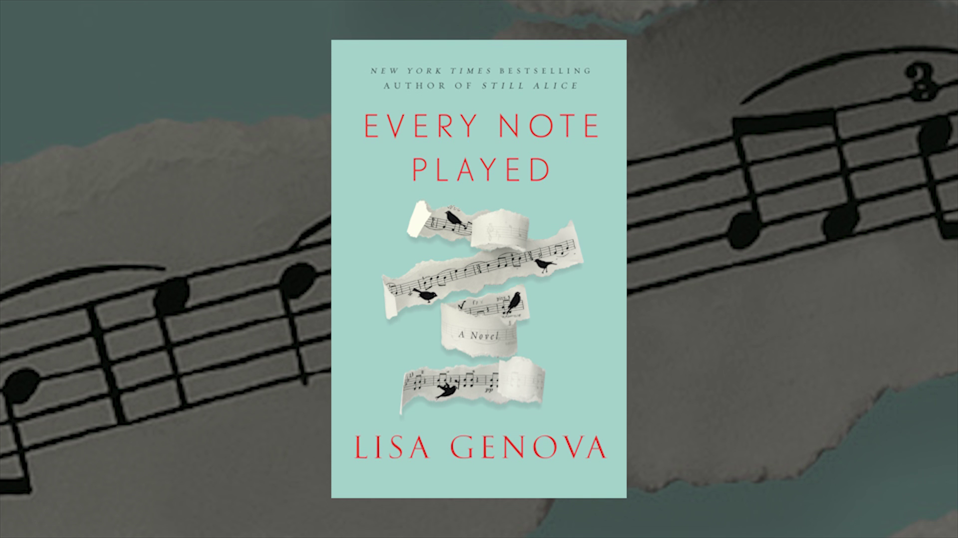 Lisa Genova Talks Inspiration for EVERY NOTE PLAYED