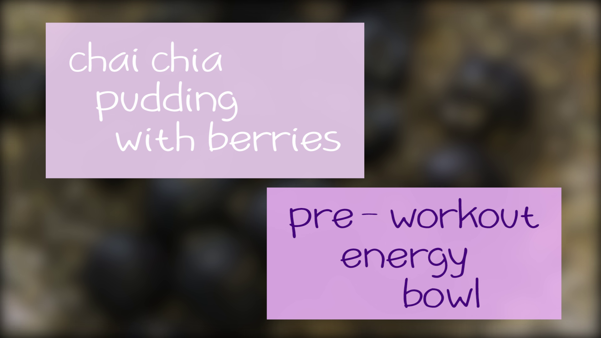 Chai Chia Pudding Bowl for Energy