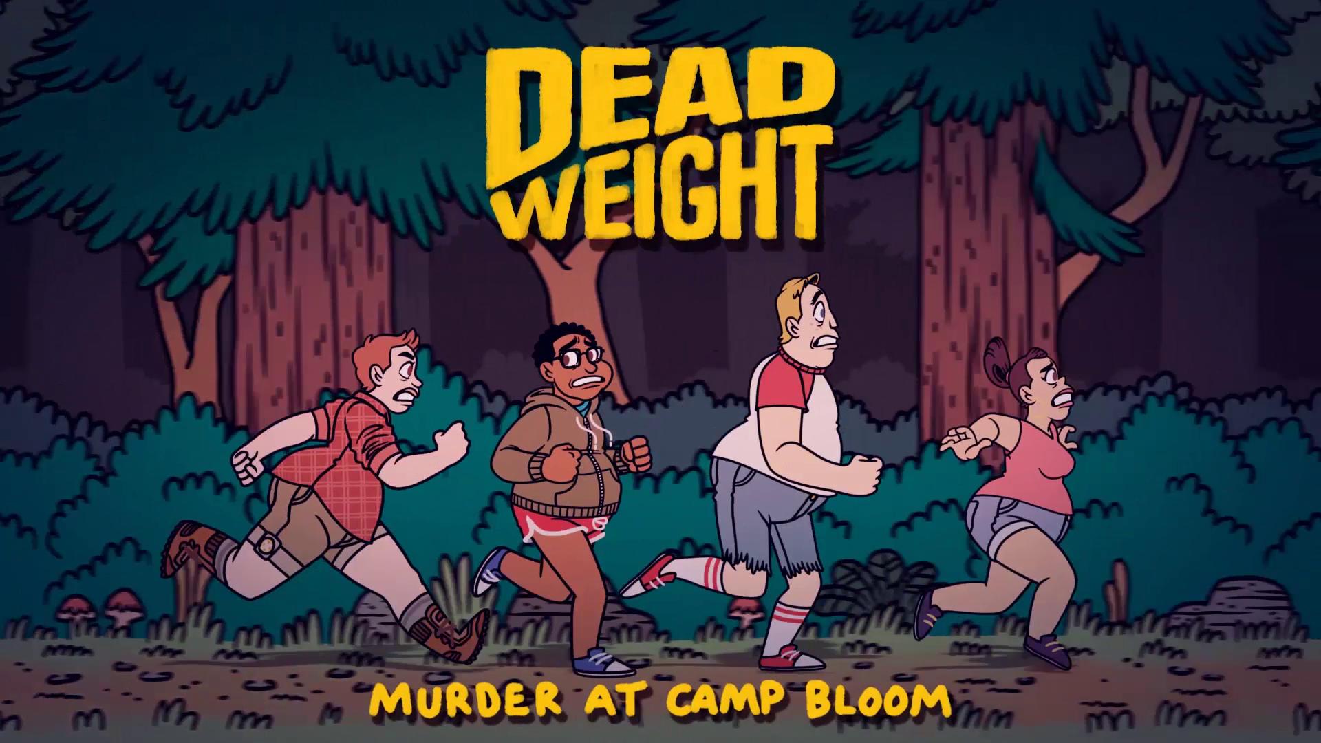 DEAD WEIGHT: Murder At Camp Bloom | Book Trailer