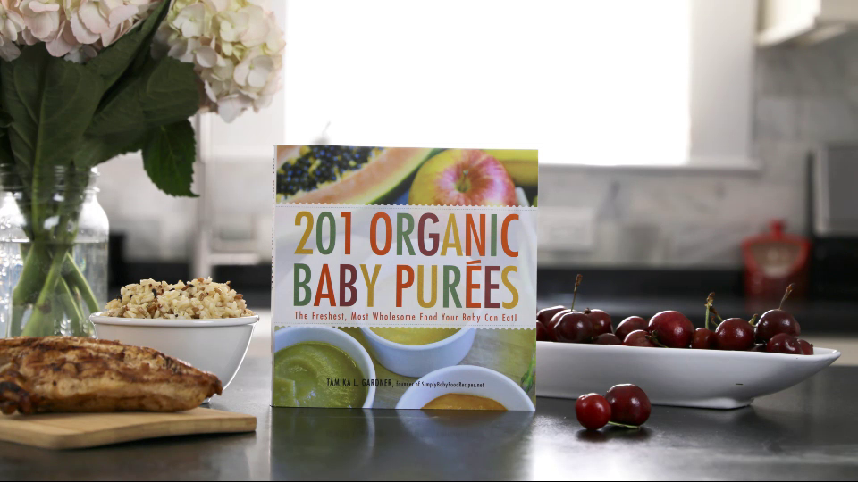 The Very Cherry Chicken Rice Bowl Recipe from 201 ORGANIC BABY PUREES