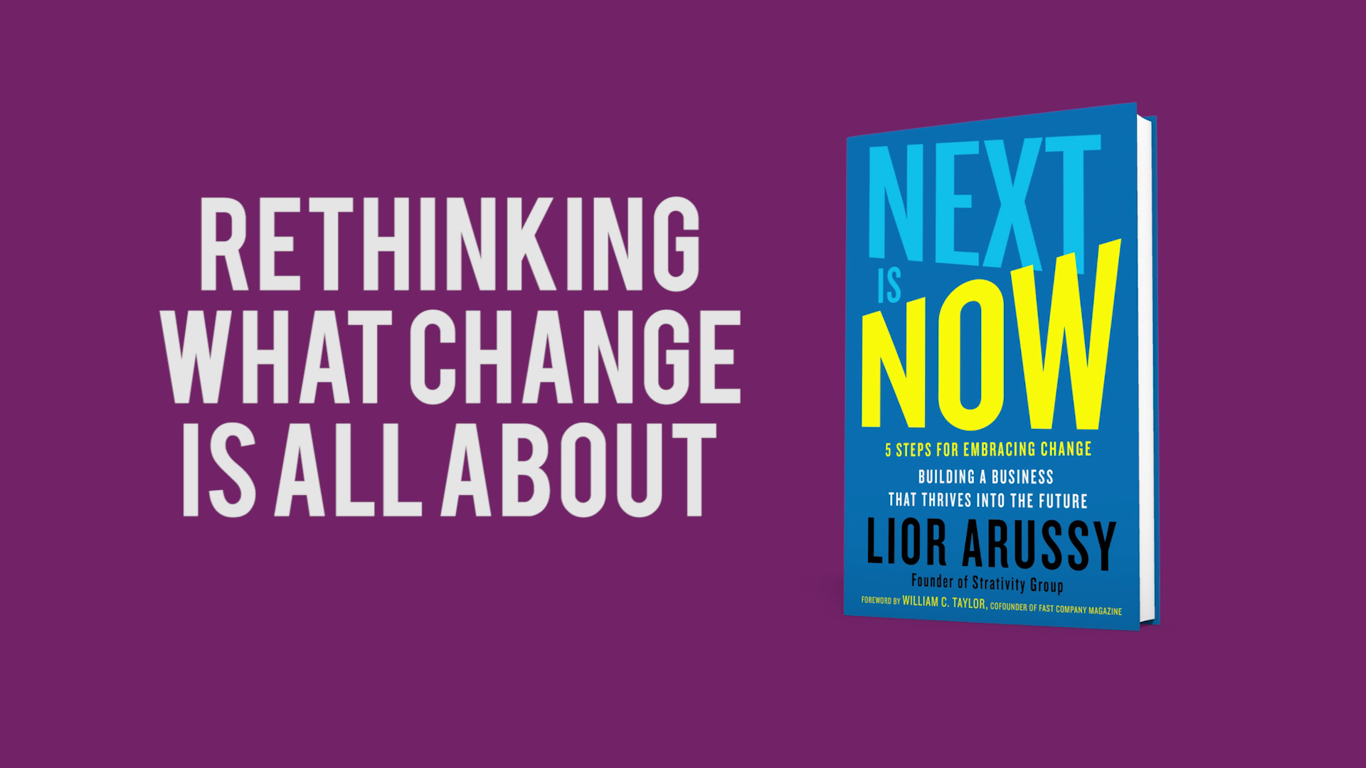 Rethinking Change Management with Lior Arussy