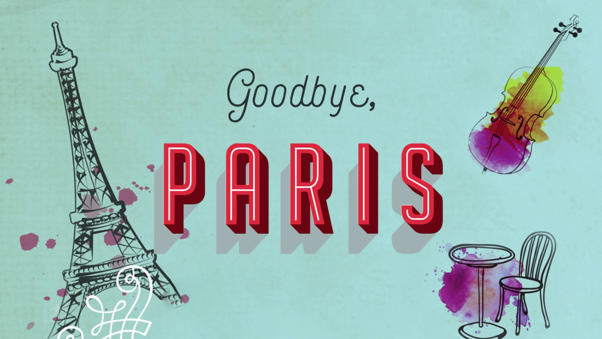 There's More Than One Way To Find Happiness In GOODBYE, PARIS | Official Book Trailer