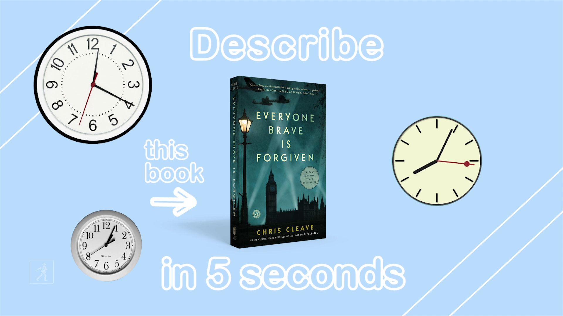 5 Second Summaries with Off the Shelf: EVERYONE BRAVE IS FORGIVEN