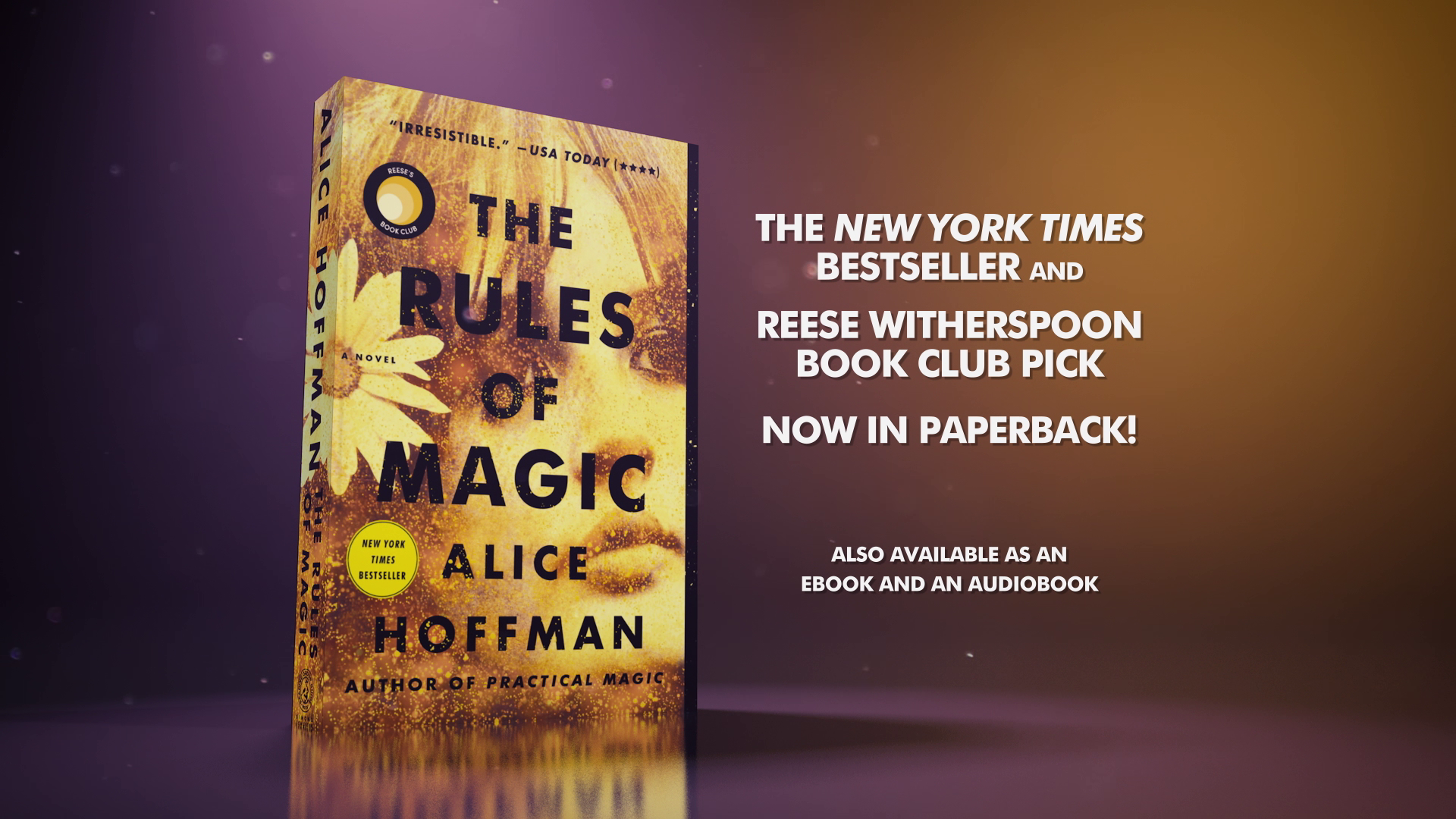 THE RULES OF MAGIC Now in Paperback