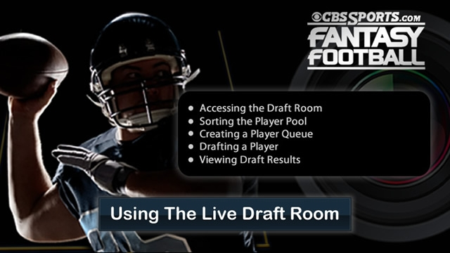 Using the Live Draft Room