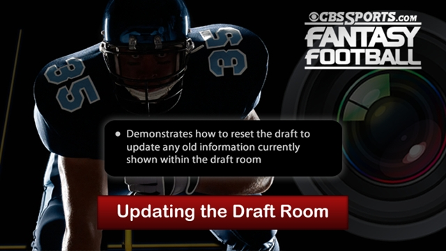 Updating the Draft Room