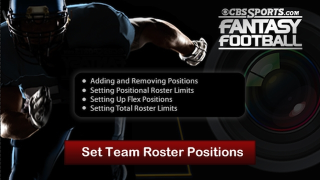 Set Team Roster Positions