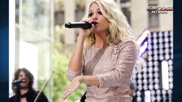 Lead Off: Carrie Underwood replaces Faith Hill