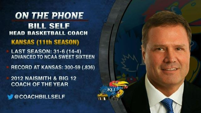 Tim Brando Show: Bill Self on Andrew Wiggins committing to Kansas