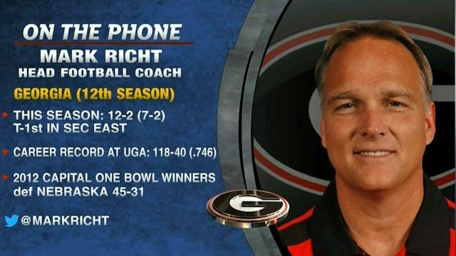 Tim Brando Show: Mark Richt on upcoming season