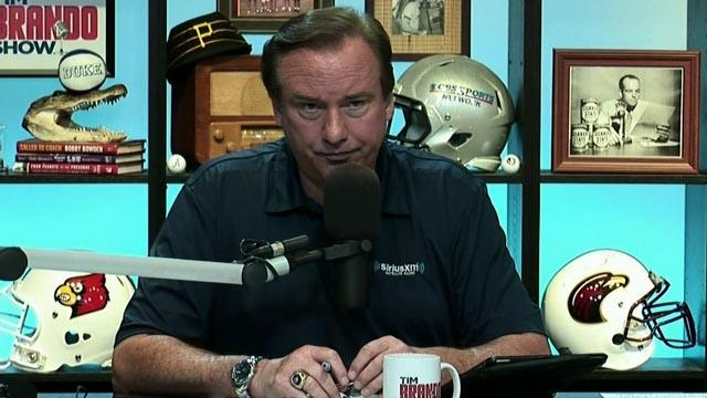 Tim Brando Show: Pete Roussel on Cam Cameron going to LSU