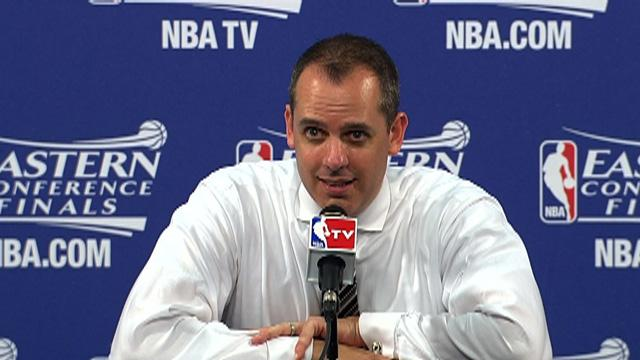 Vogel on Game 2 win in Eastern Conference Finals