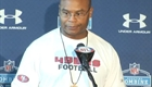 Mike Singletary at the NFL Combine