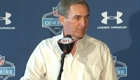 Mike Shanahan at the NFL Combine