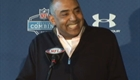 Marvin Lewis at the NFL Combine