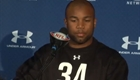 Golden Tate at the NFL Combine