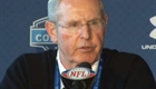 Tom Coughlin at the NFL Combine