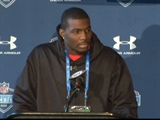 Dez Bryant at the NFL Combine