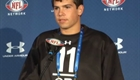 Dan LeFevour at the NFL Combine