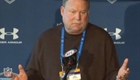 Mike Holmgren at the NFL Combine