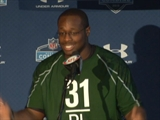 Gerald McCoy at the NFL Combine
