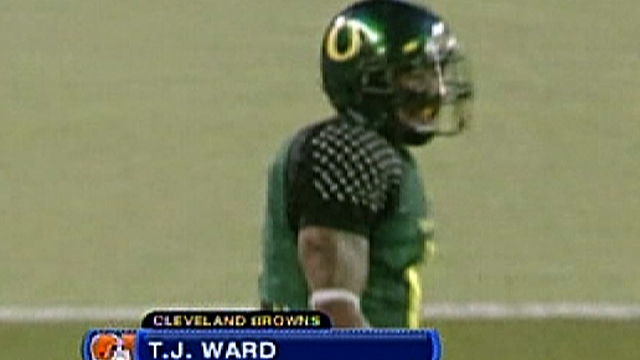 38th Pick: T.J. Ward