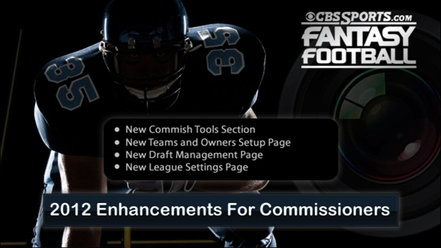 Enhancements for Commissioners