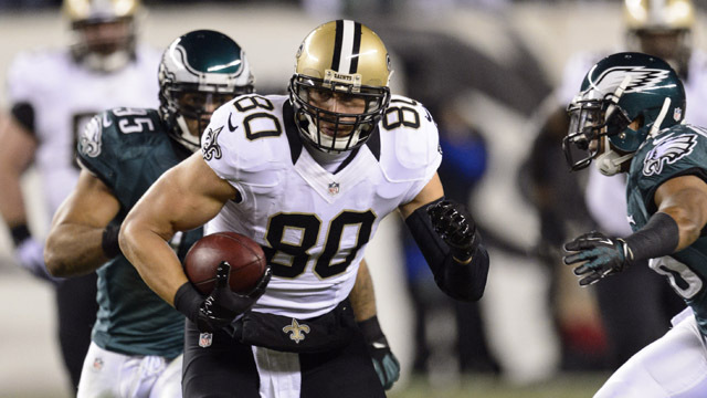 Arbitrator classifies Jimmy Graham as a tight end