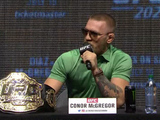 Best of McGregor from UFC 202 press conference