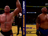 Lesnar beats Hunt by unanimous decision