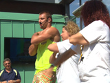 Rob Gronkowski the Zumba Instructor