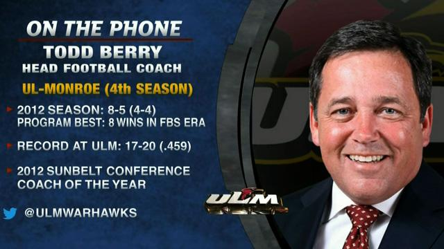 Tim Brando Show: Todd Berry talks UL-Monroe football