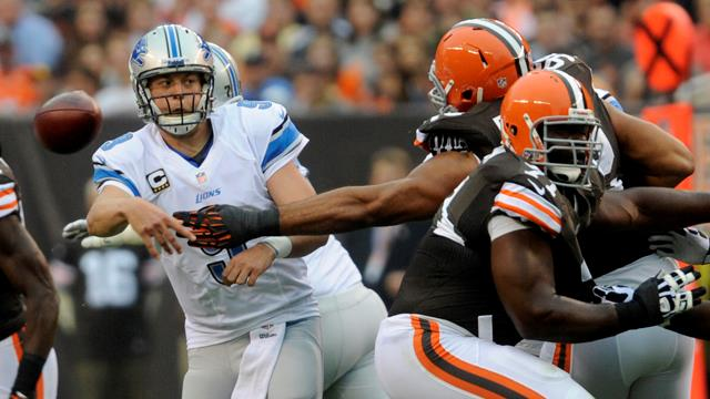 Lions at Browns recap