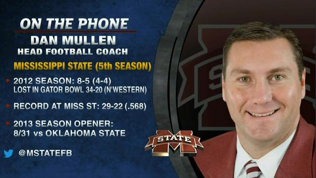 Tim Brando Show: Dan Mullen on Mississippi State football