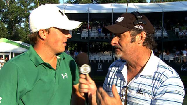 Spieth on victory at the John Deere Classic