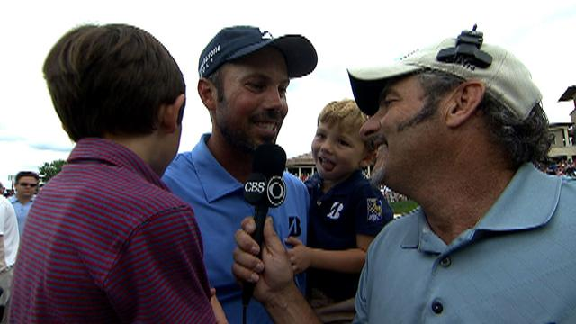 Kuchar on victory at the Memorial Tournament