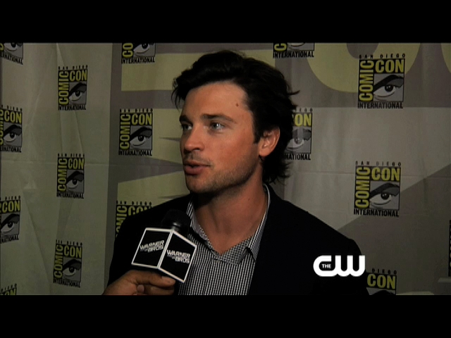 Smallville Interview - Smallville at Comic-Con