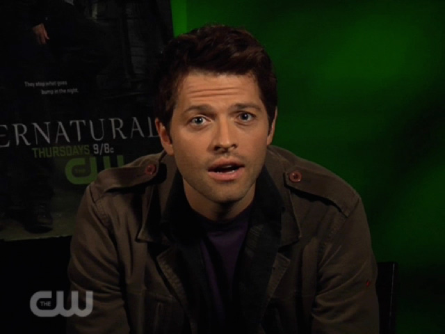 Supernatural CW Connect - Misha Collins