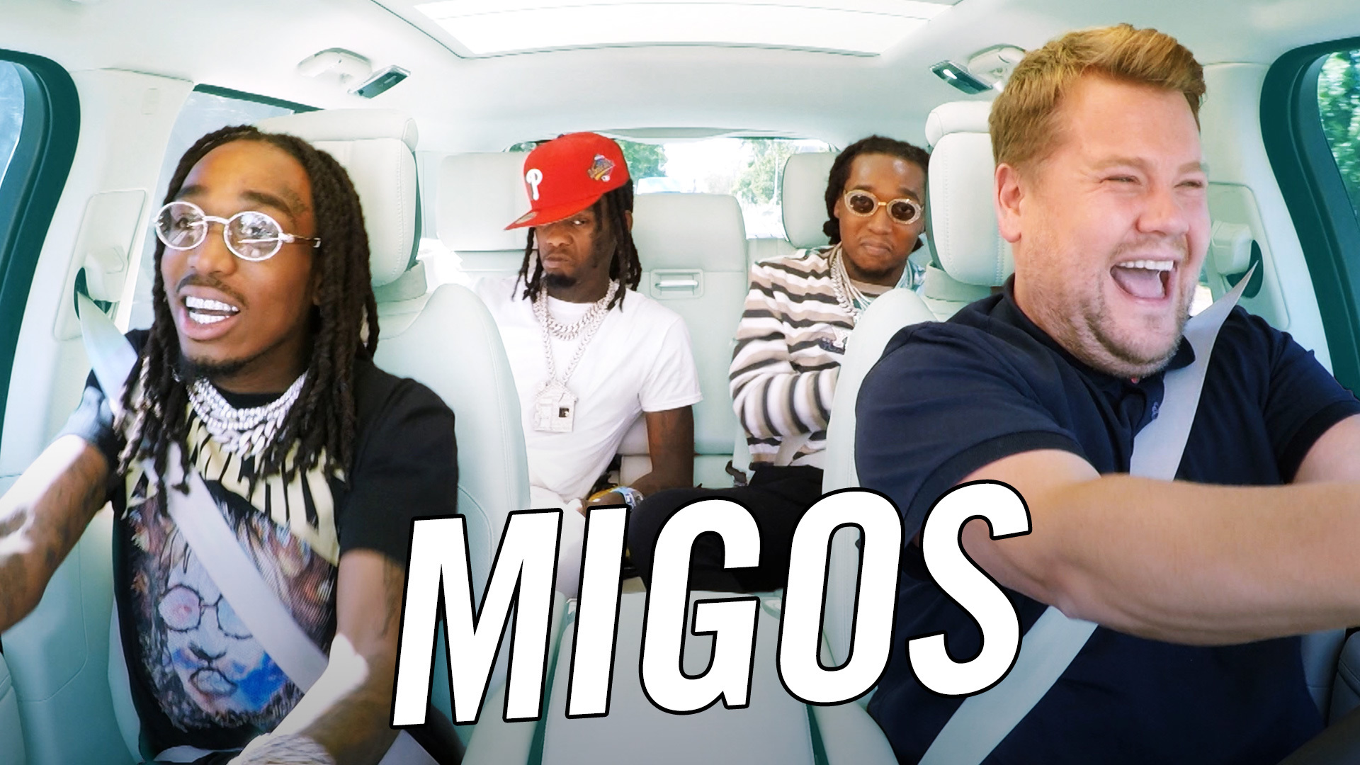 Watch The Late Late Show With James Corden Migos Carpool Karaoke