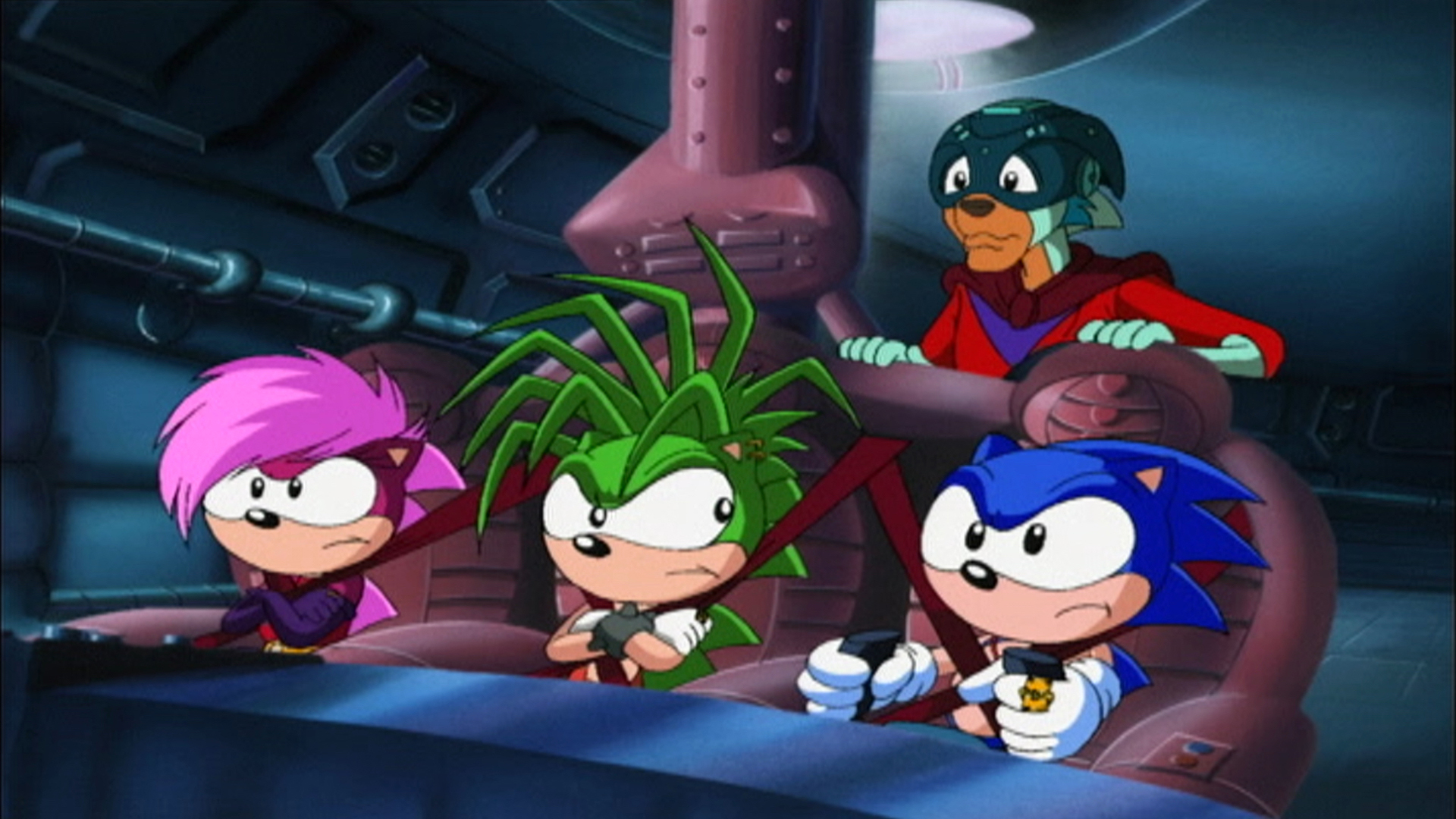 Watch Sonic Underground Season 1 Episode 28 The Hedgehog In An Iron Mask Full Show On Cbs All Access