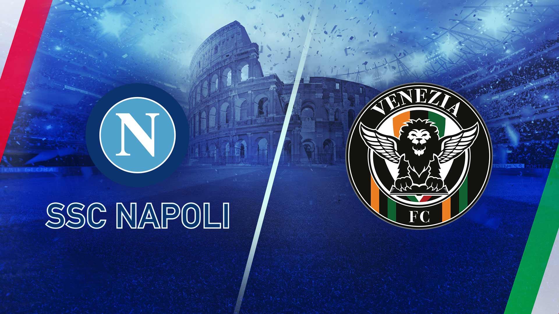 Napoli vs Venezia Highlights 22 August 2021