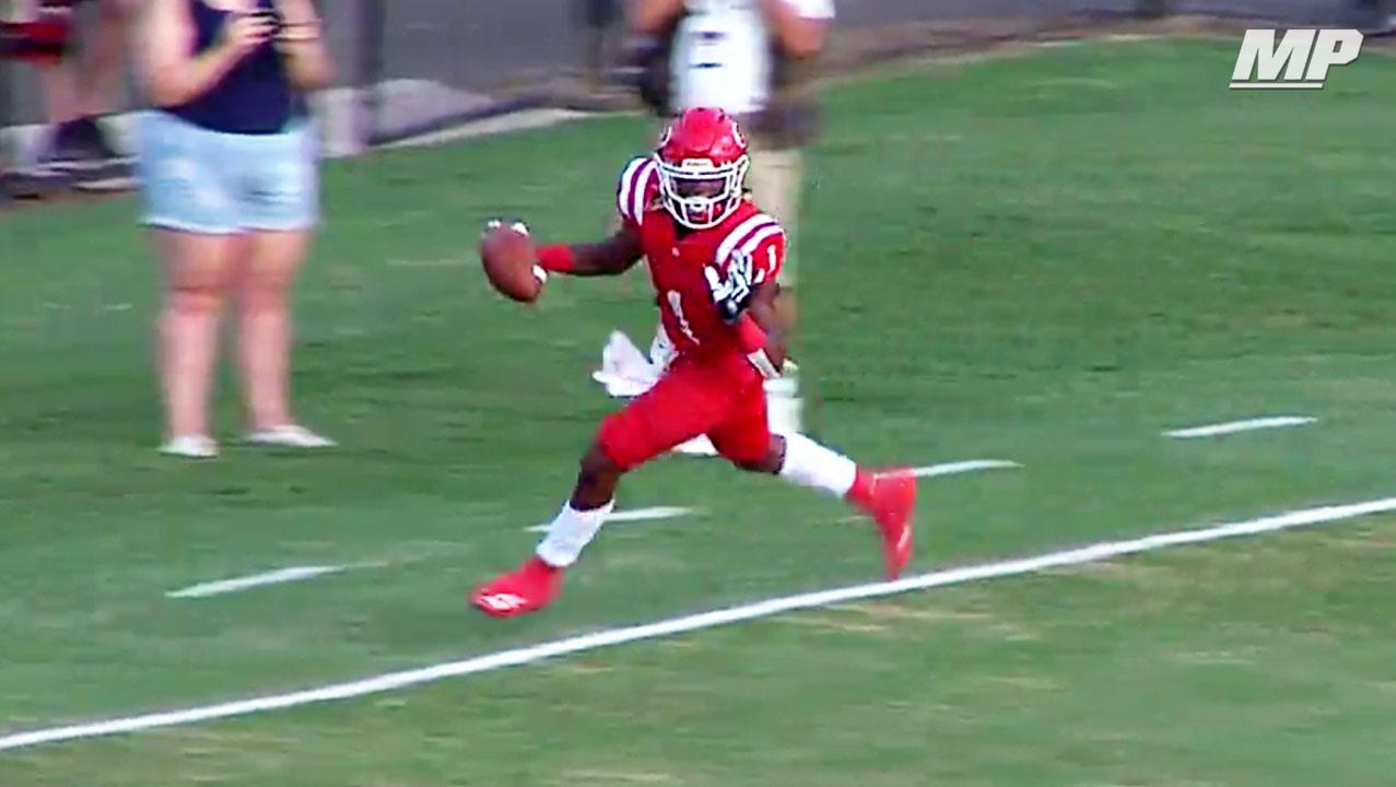 Image result for Senior highlights of Dalton's (GA) 3-star running back Jahmyr Gibbs.