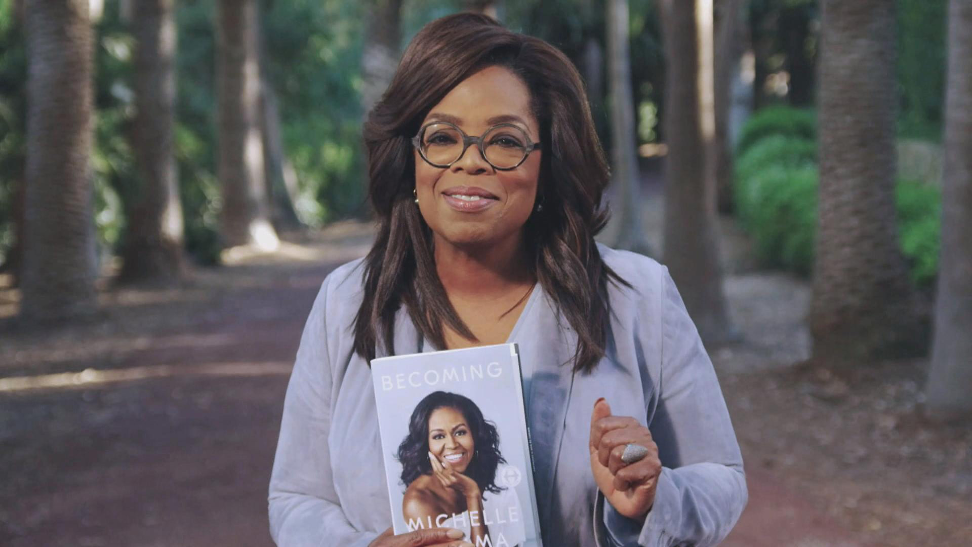 oprah book club becoming questions