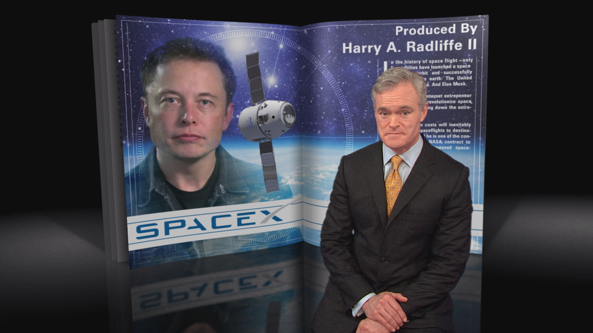 Watch 60 Minutes Overtime: 2012: SpaceX: Elon Musk's race to space - Full  show on CBS All Access